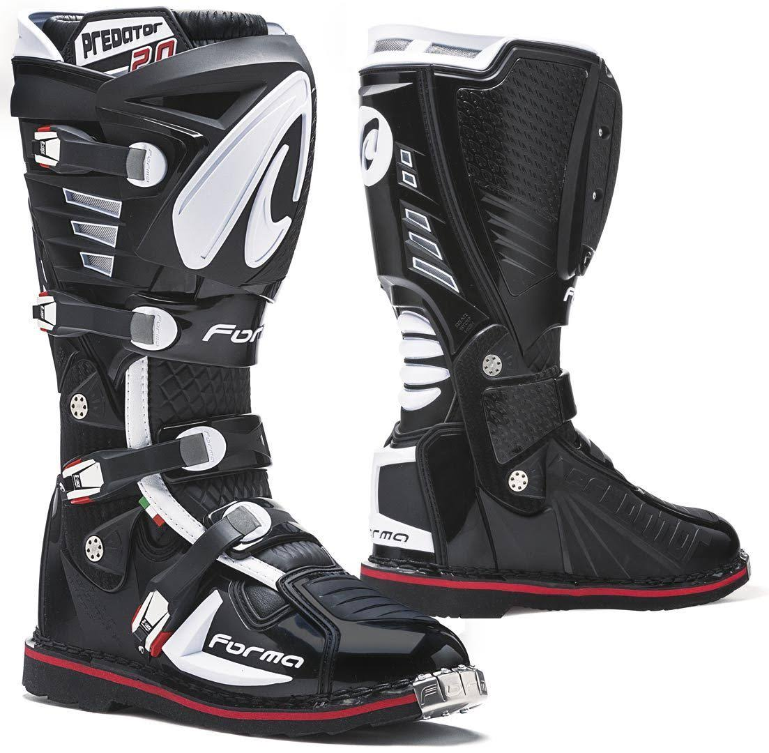 2 0 Boots Predator Black Size 45 Forma HWDEI29Y