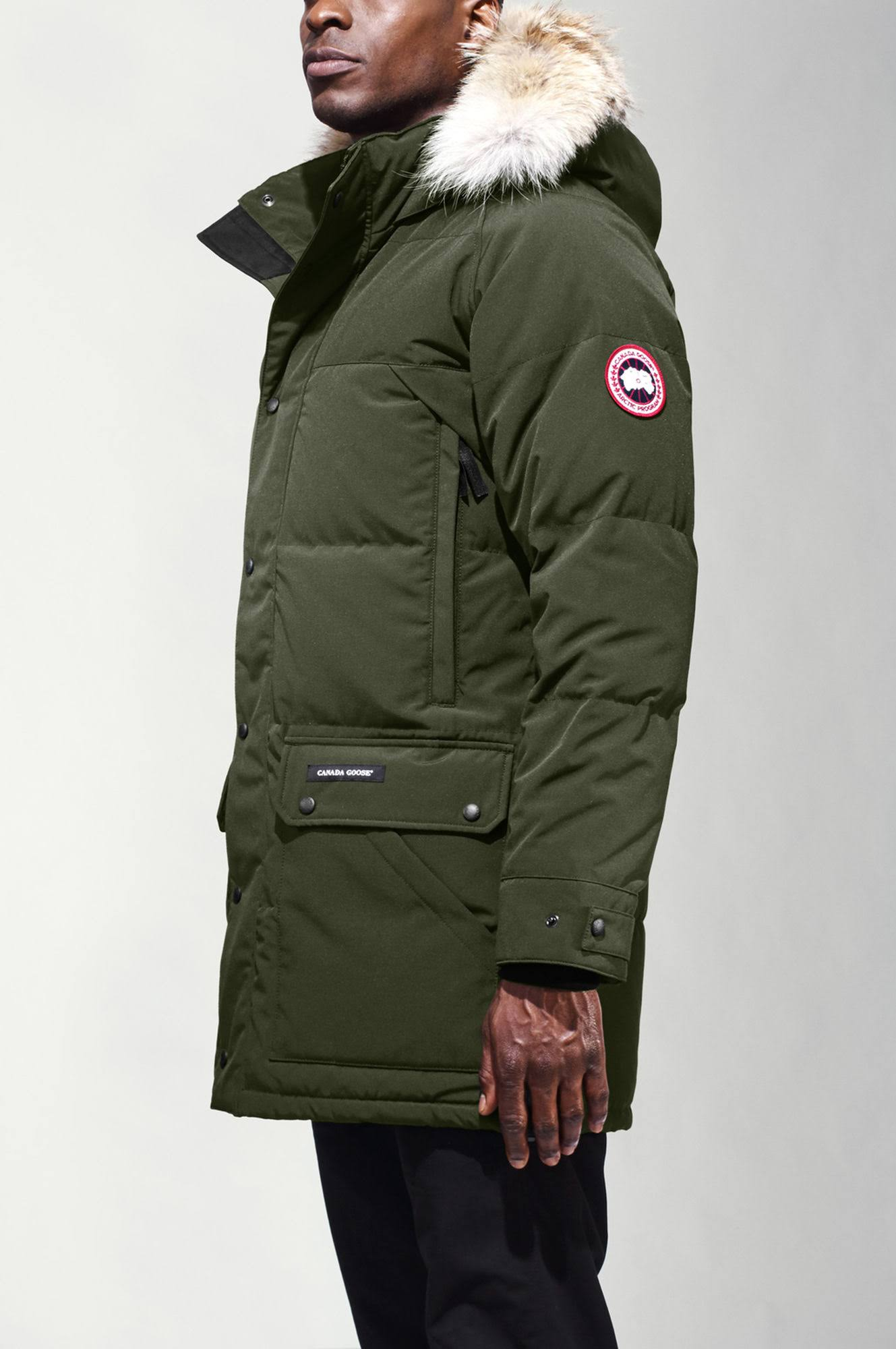 Emory Militar Parka Goose hombres Canada Xs Verde gwpxS5C8q