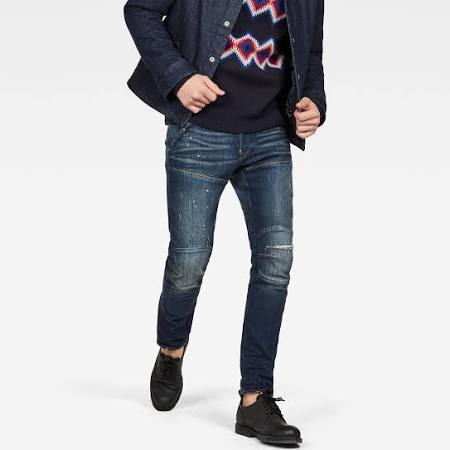 Elwood star 3d 5620 Dunkelblau Jeans G Male Slim S7dnxAtw
