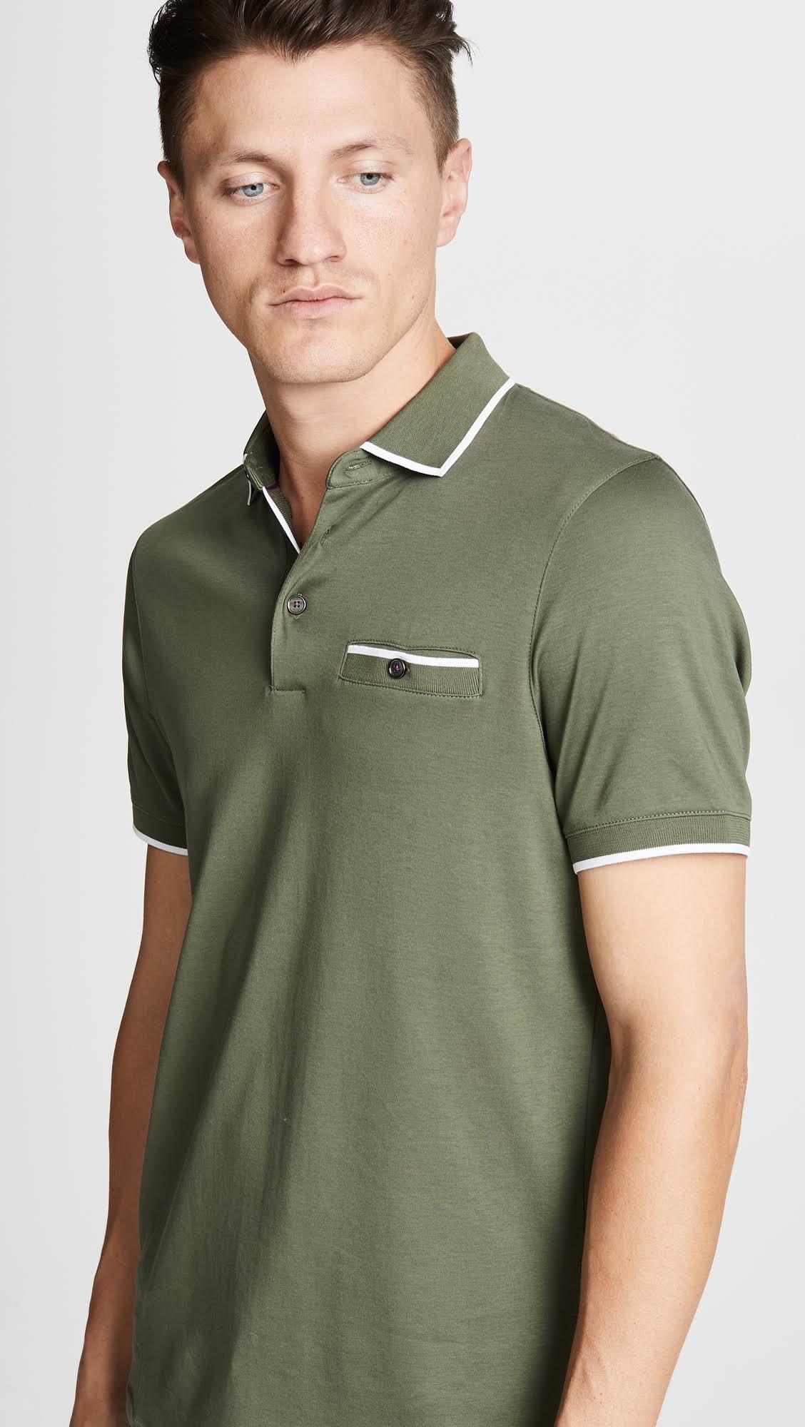 Para Hombre Baker Ted Polo Color Green Caqui 6 Verde Khaki 7I6Tq