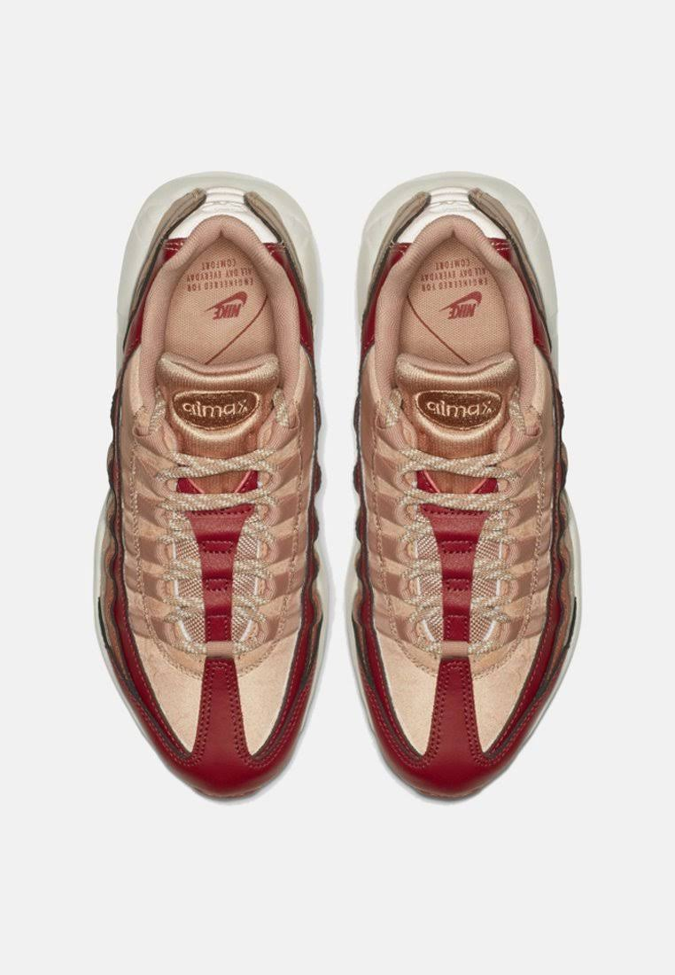 Bruin Schoenen Dames Air Nike 95 bordeaux Rood Bruin rood Bordeaux Max n8xOfqpwPf