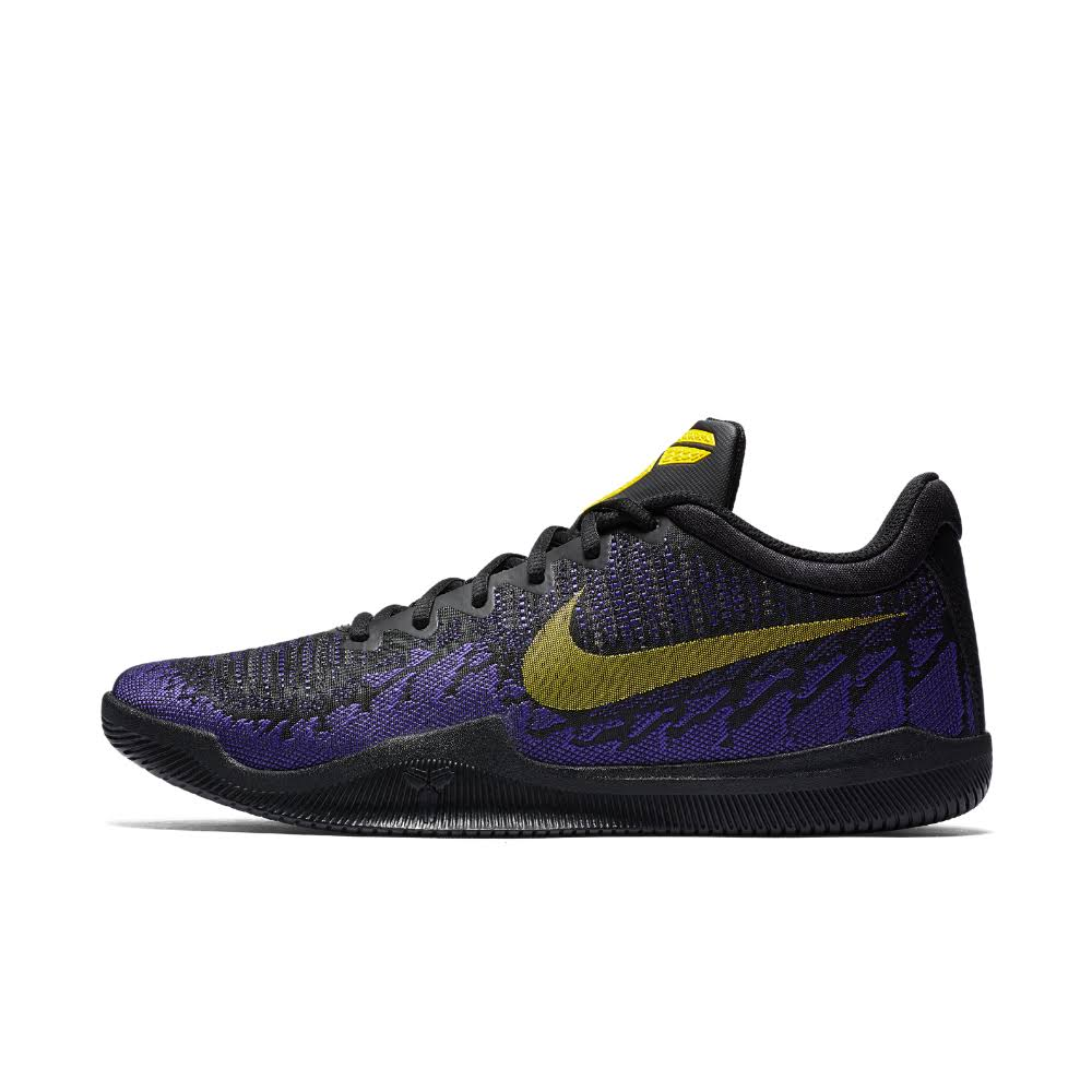 7 Black Shoe Mamba Purple Basketball Nike Size tour Men's Rage black 5 Yellow court xYqnxzC
