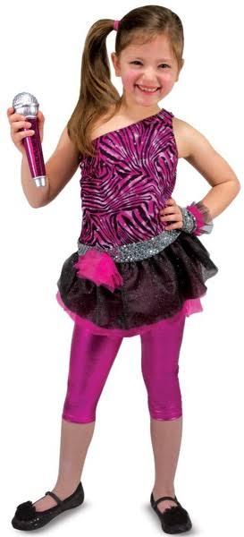 La Tamaño Melissa Rol Estrella Vestuario 3 Gris Y Para Juego Doug Rosa Rock De Fuerte 1wcqO0nxnI