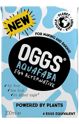 OGGS - Aquafaba Egg Substitute (200ml) - TheVeganKind Supermarket