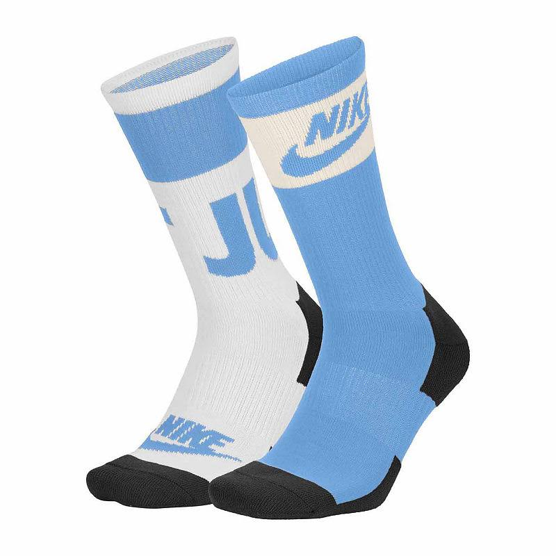 large Large Blue Nike Sportswear Crew Socks 2 Size Pair university Blue Men's xFPqg0vwP