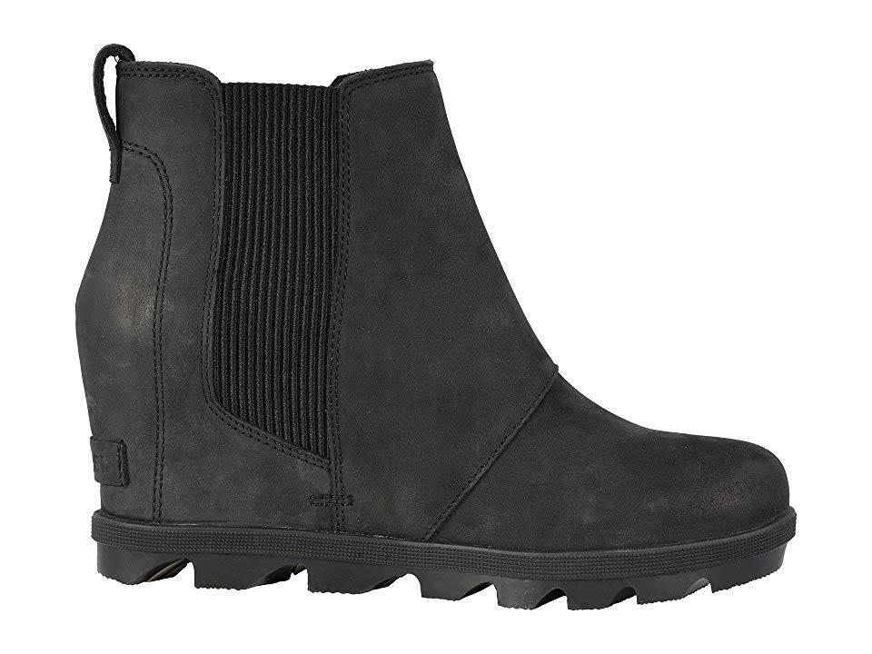 Boots Sorel Negro Arctic 11 Chelsea Joan Wedge Of Ii FYTqPF