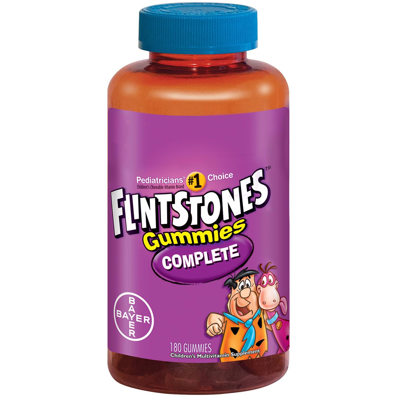 Flintstones Complete Children's Multivitamin Supplement G...