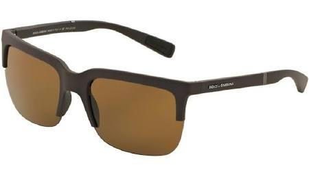 Caucho Gafas Color 301683 Polar Marrón De Sol Gabbana Dolce Dg6097 RRa8pg4n