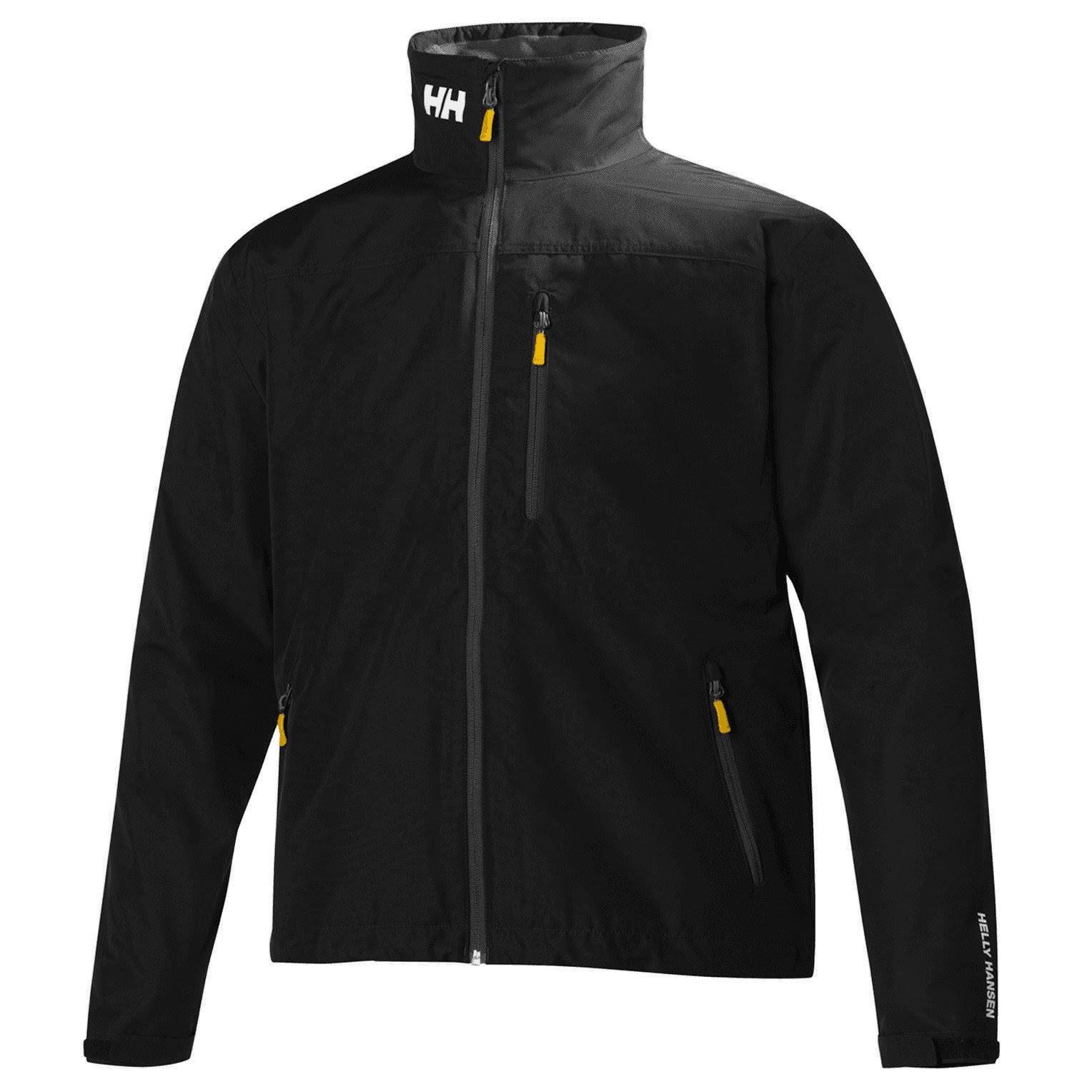 Crew Hansen Jacket Helly Black Regular 5pHx1a