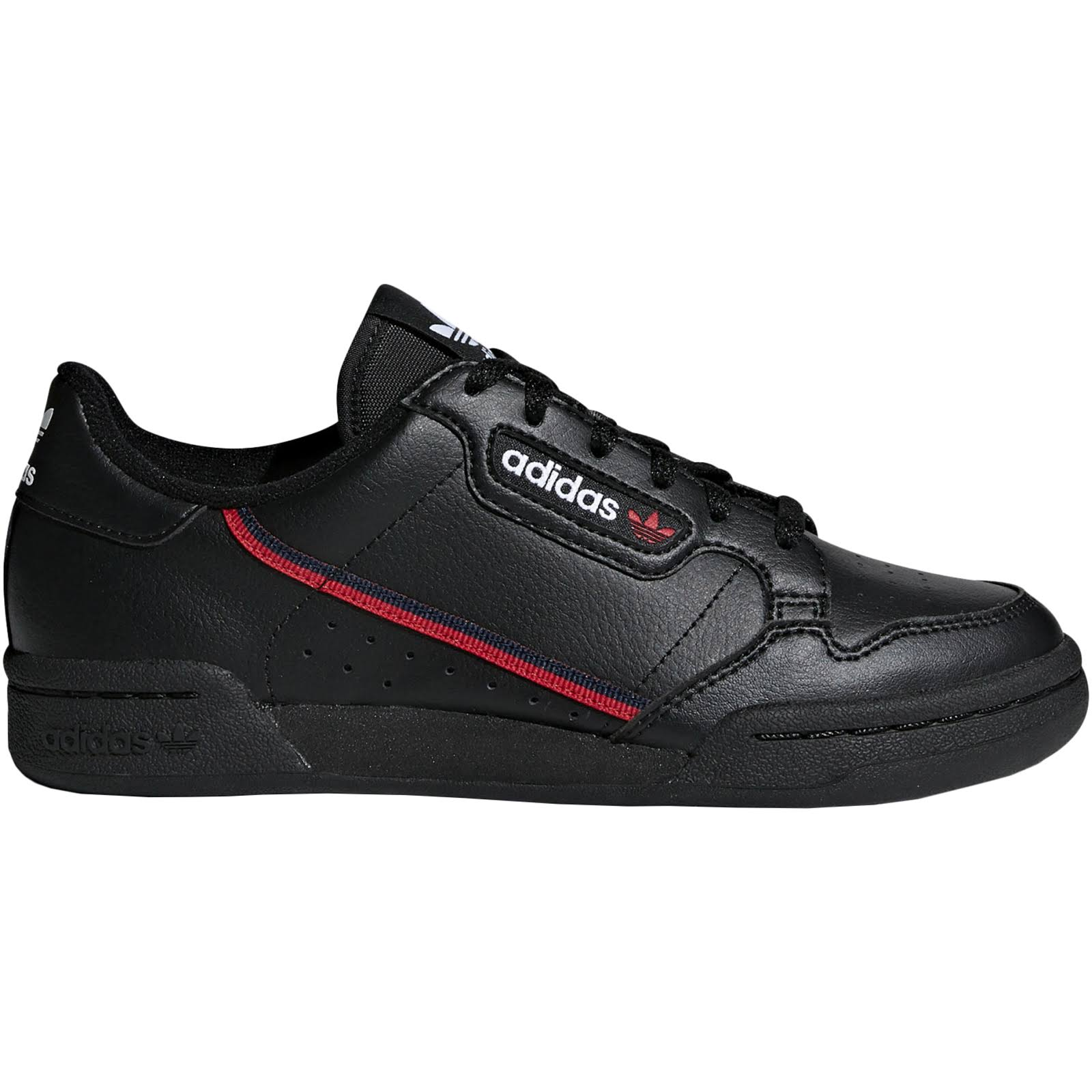 Adidas Continental 80 Shoes - Black - Kids