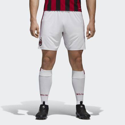 AC Milan AC Milan ́17 Junior Home Shorts 11-12 Years - Boy