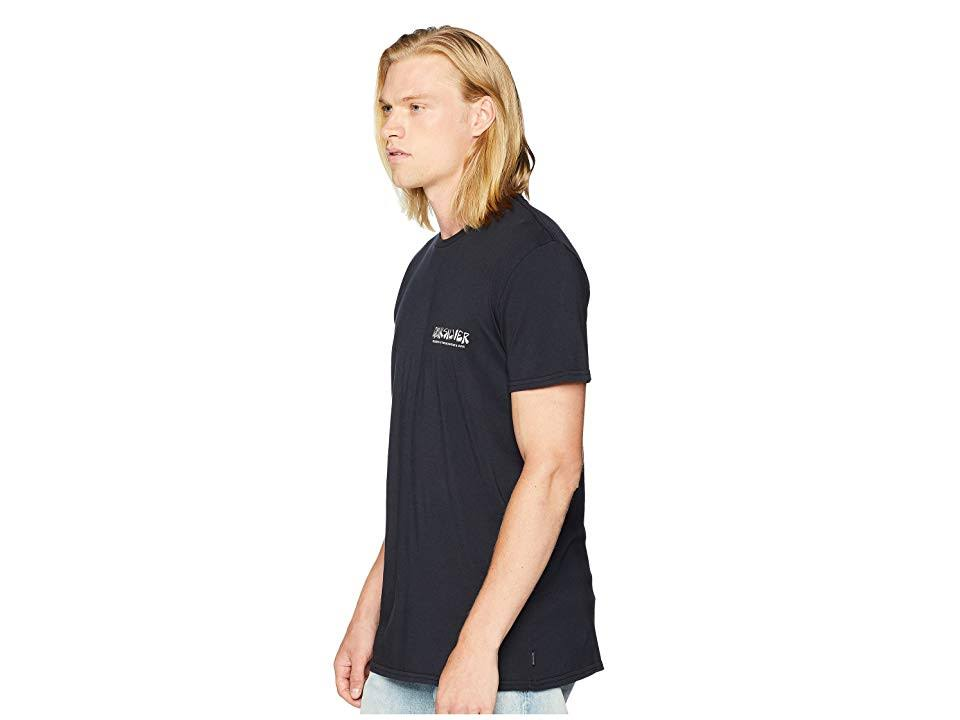 T Quiksilver Größe M shirt Wave Mountain Herren The And Original Schwarz qFqS1C