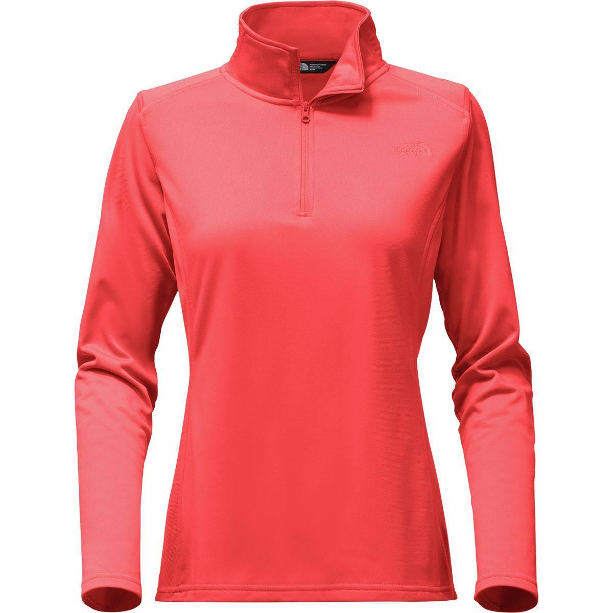 Face Red The North Fleece Tech Womens 14 Glacier Cayenne Zip gT45nPTx