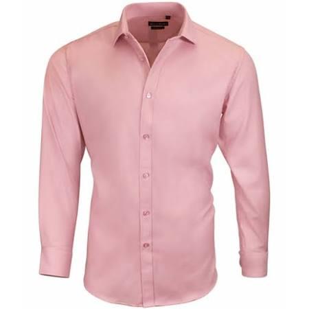 33 Slim 5 Dolce fit Pink 32 Short 15 15 Vestir Roma Hombre Para Camisa Slim De qqOZwxfa8