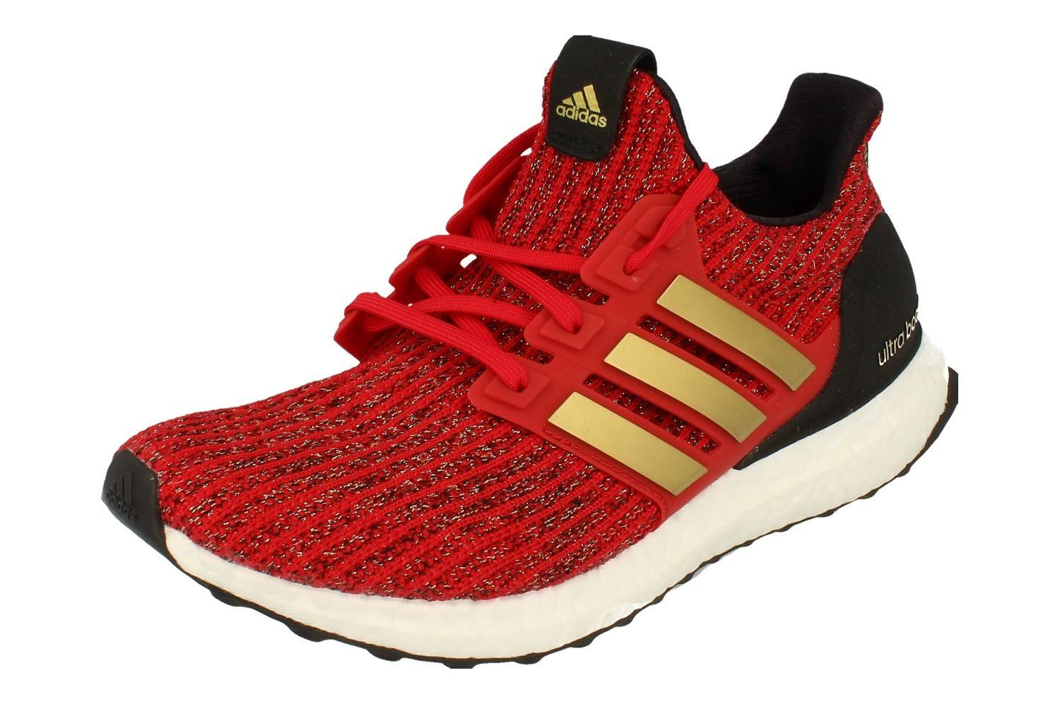 Buy Adidas ultraboost x GOT Womens Sneakers (uk 6 us 7.5 eu 39 1/3, red gold white EE3710) EE3710 - Free UK Delivery - Super Fast EURO & USA Delivery!