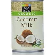 365 Organic Coconut Milk - 13.5 fl oz can