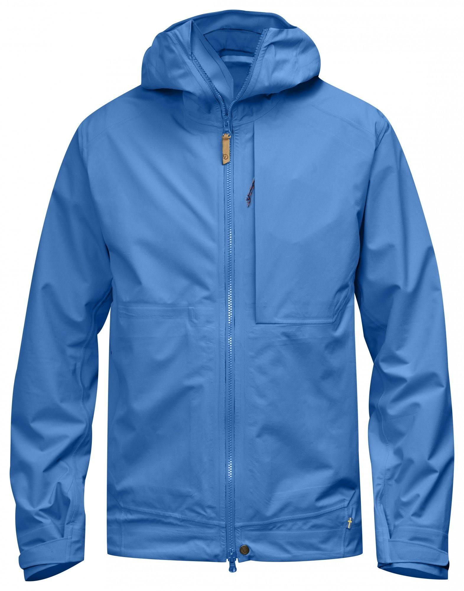 Abisko L Eco Blue Hombre Jacket Un Fjallraven shell 8q7w6xR