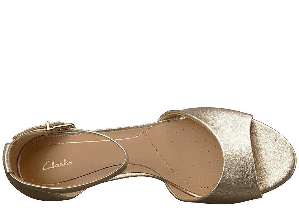 Laureti 5 9 Damessandalen Maat Grace Champagne Clarks NXwOP80nk