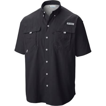 Columbia Black Kurzarmshirt Bahama Herren Lt Für Pfg Ii xRBw14x