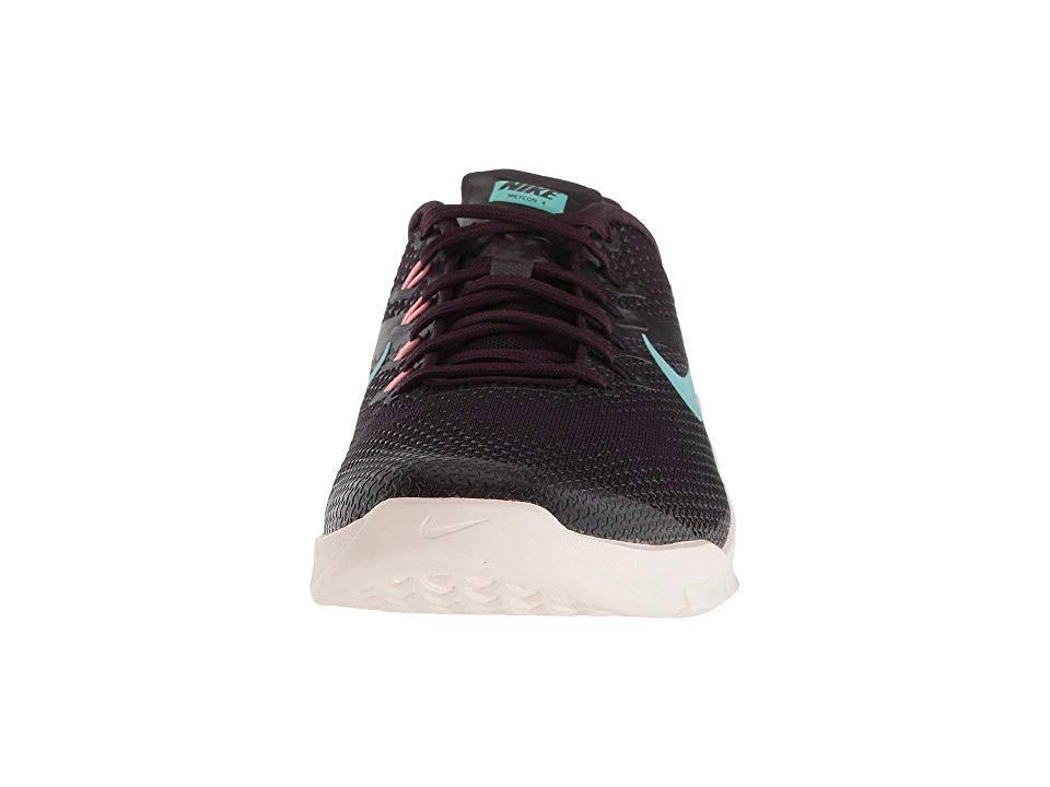 Nike Zapatos Burdeos Verde 8 Mujer 0 Rojo Para De Entrenamiento Metcon Ceniza Tamaño 4 arOqEanR