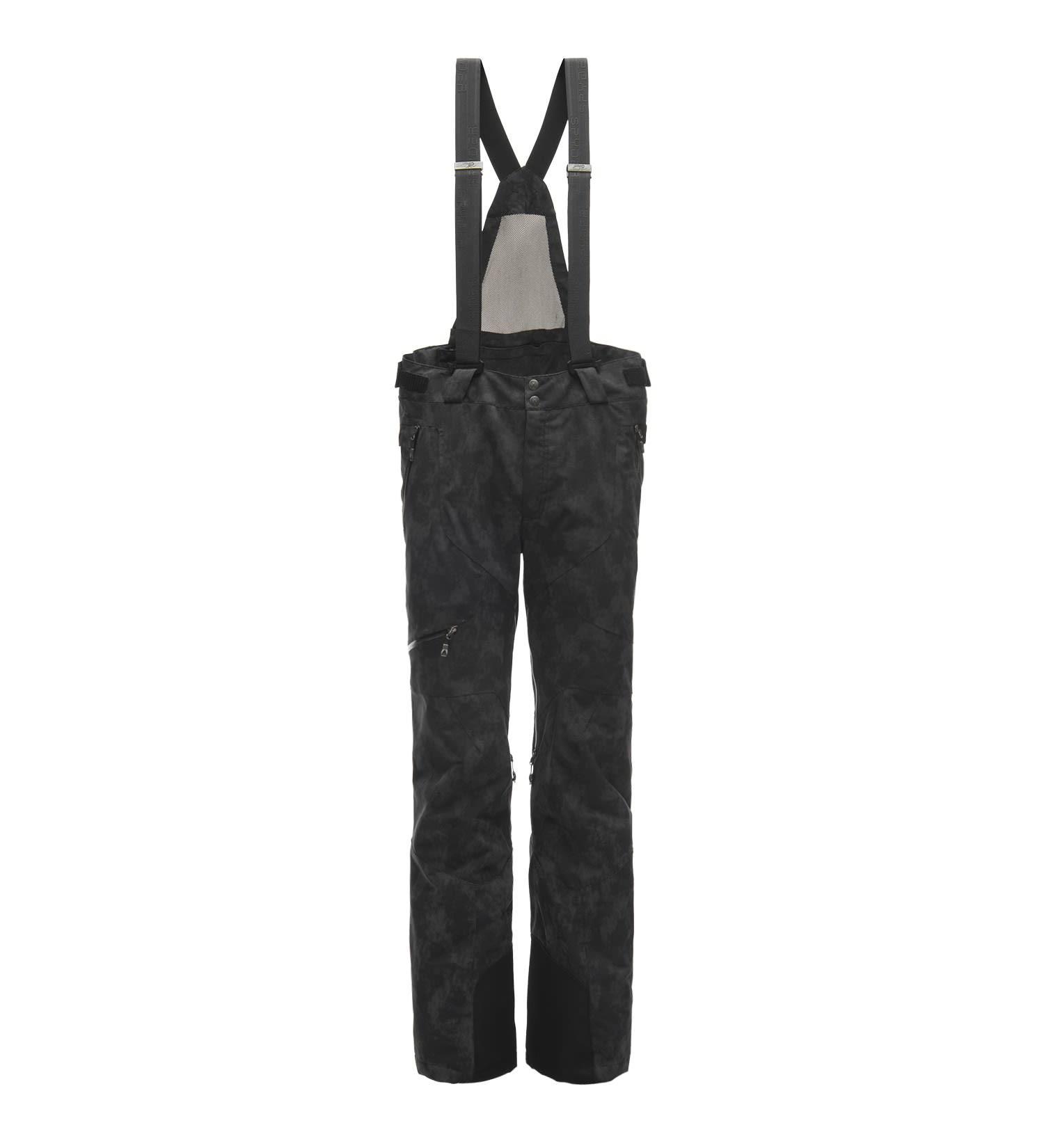 Negro De Hombre Spyder Para Pantalón Propulsión Esquí 74AwqAzR