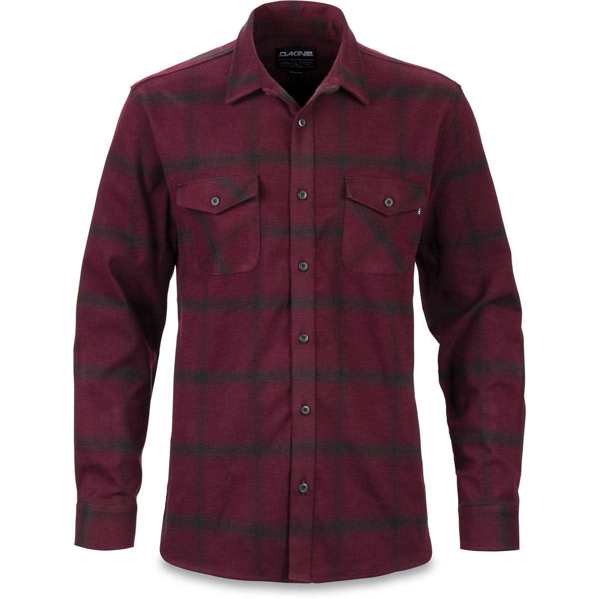 Chemise plum small S Dakine Homme Flannel Red Underwood Plum Shadow xawxIdqn