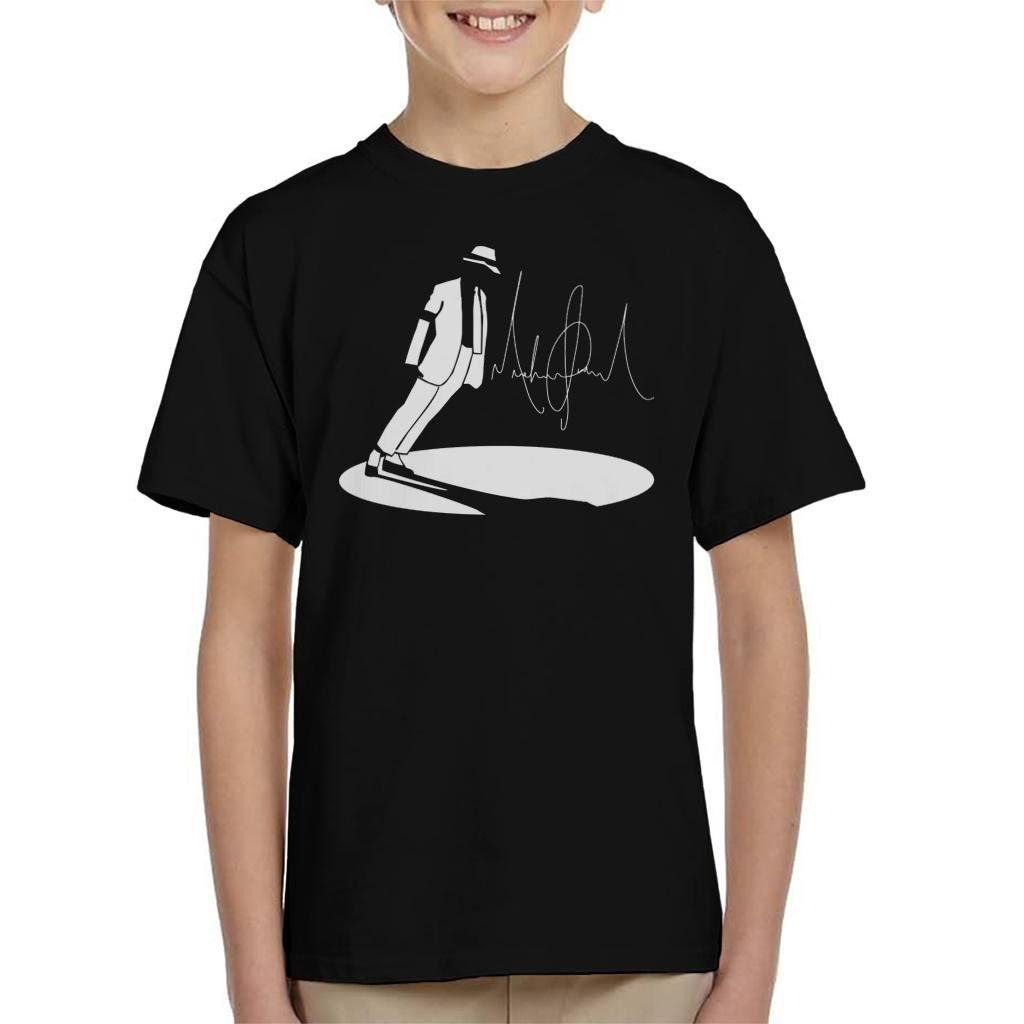(X-Small (3-4 yrs)) Michael Jackson Smooth Criminal Lean Kid's T-Shirt