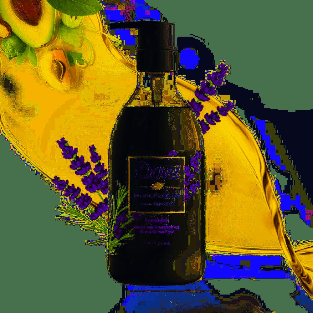 Dove Body Wash Botanical Selection Lavender Pump 500 Japan