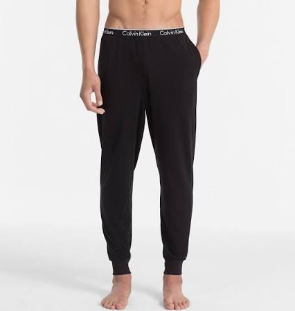 Black L Pants Hombres Klein Sleep Pj Ck Calvin wT47qXZn