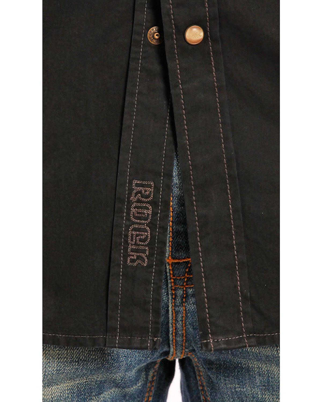 L amp; Cowboy Roll S Westernhemd Herren Rock B2s6461 nI1dqW