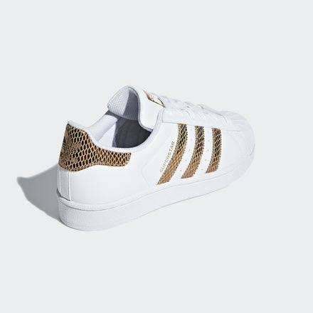 Gold White 5 Adidas Red Shoes 3 Superstar Cloud Kids xTIgqY