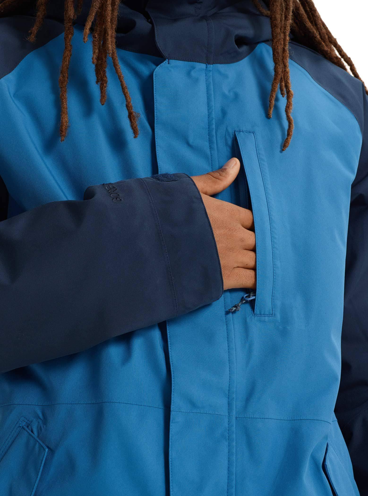 Burton Chaqueta Mediana Vallarta Índigo Hombre Azul Gore Para De tex Radial Humor 55x1Urwq4