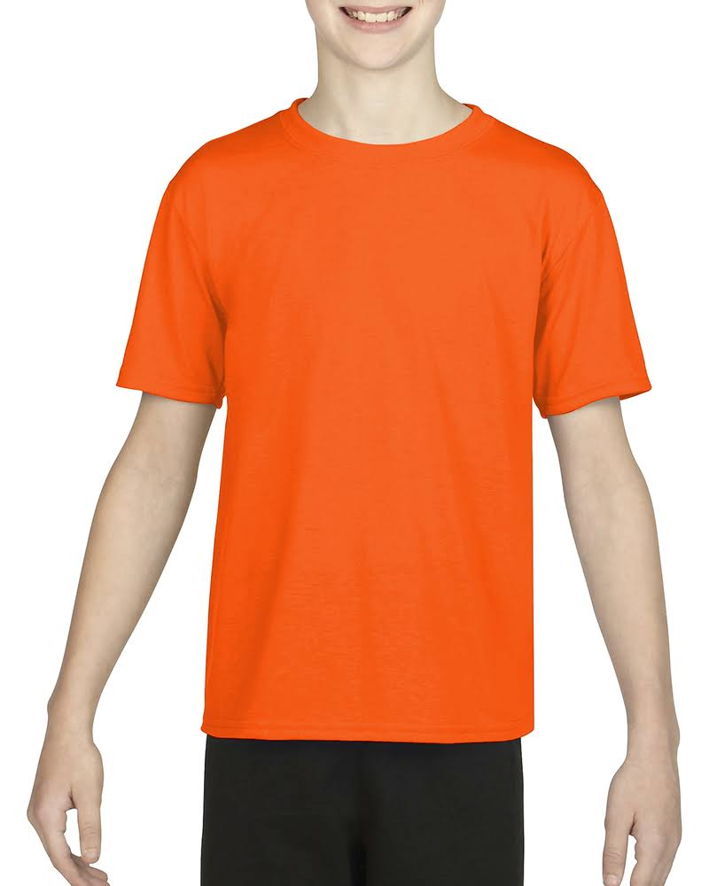 Jugend 7 Gildan T Heather lin Sport Kern shirt Yd G460b Orange Oz 8 55rE6qw
