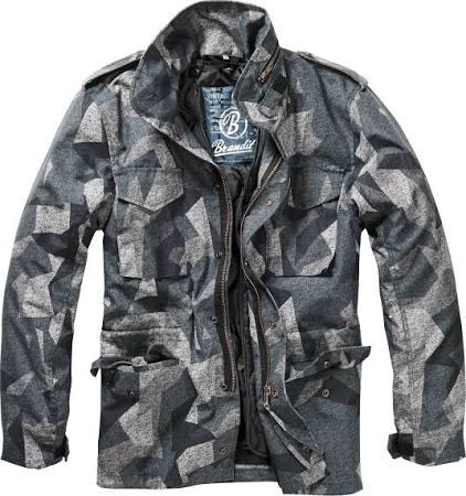 Brandit Hombre Clásica M 65 Textil Darkcamo Chaqueta Para Regular Xxl 4wfqxIc1va