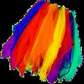 ODN 12pcs kindergarten Performance Dance Small Scarf, Random Color