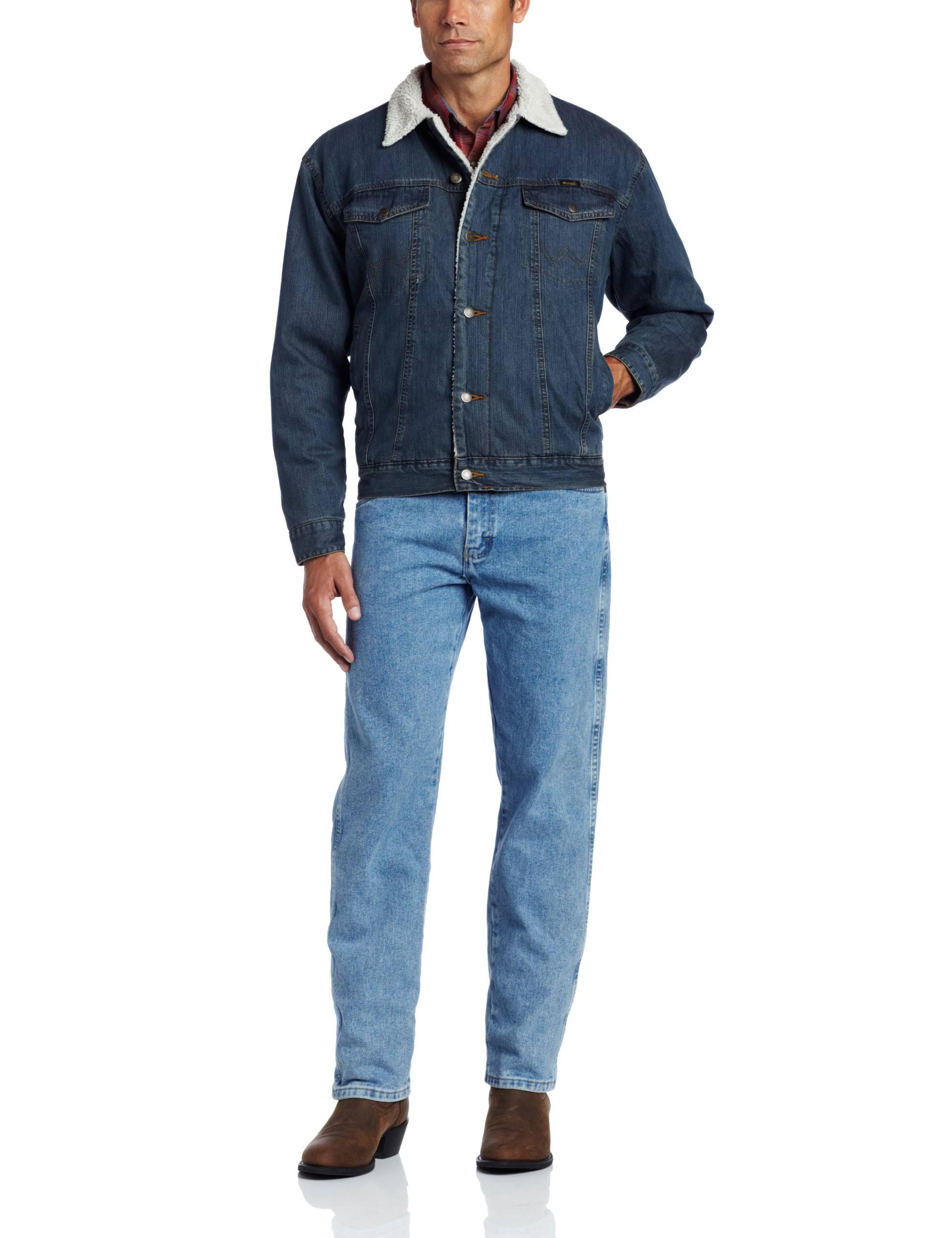 Hombre Forro 74256rt Sherpa Azul Para Wrangler Chaqueta De BfwUqx5X