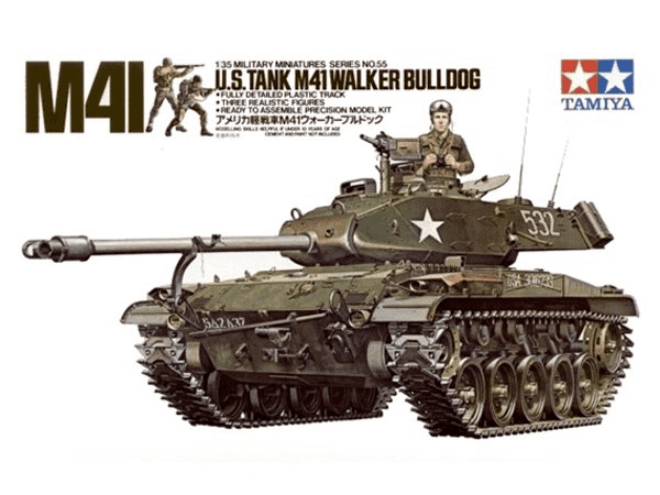 Tamiya 35055 U.s. M41 Walker Bulldog 1/35