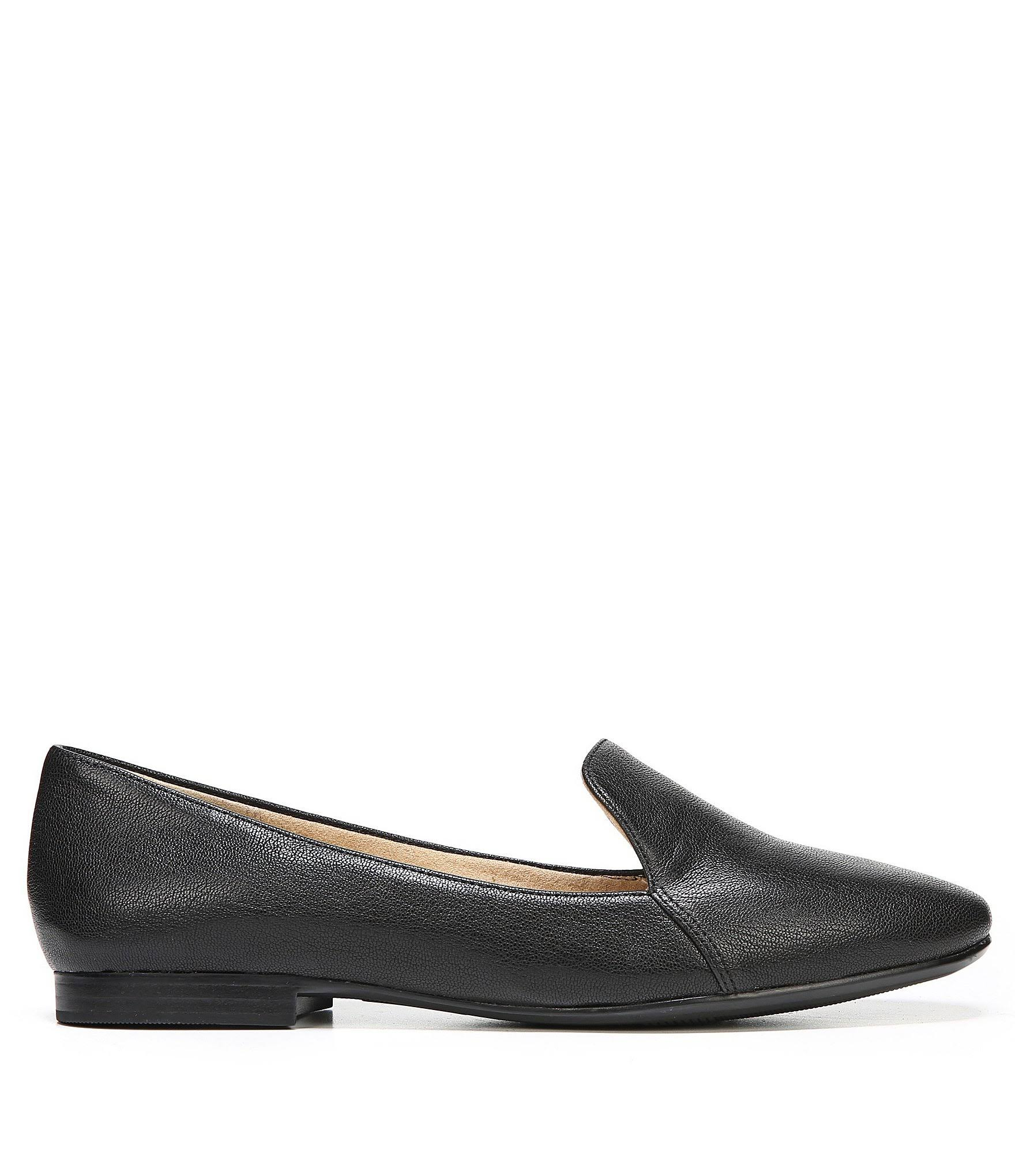 Naturalizer On Slip Black 5 Tumble Leather EmilineWomens 6 N EQCrxBoedW