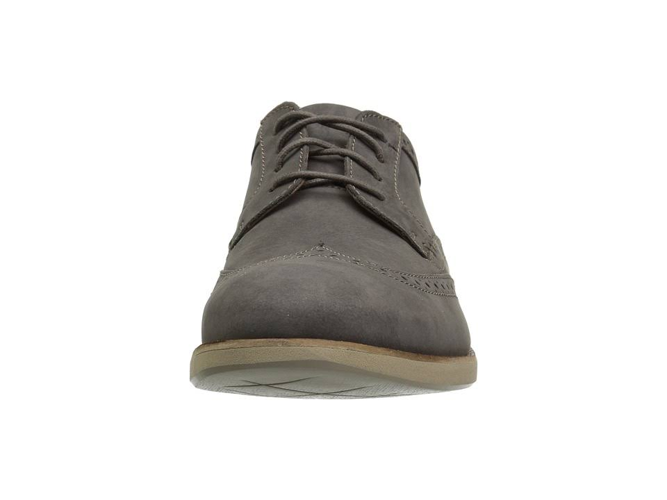 Wing Nubuck Clark Men's Raharto Oxford Grey EH2D9I