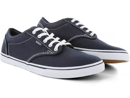 Canvas 7 Vans Navy us Low Womens M Atwood Size white qxf4n8xAtT