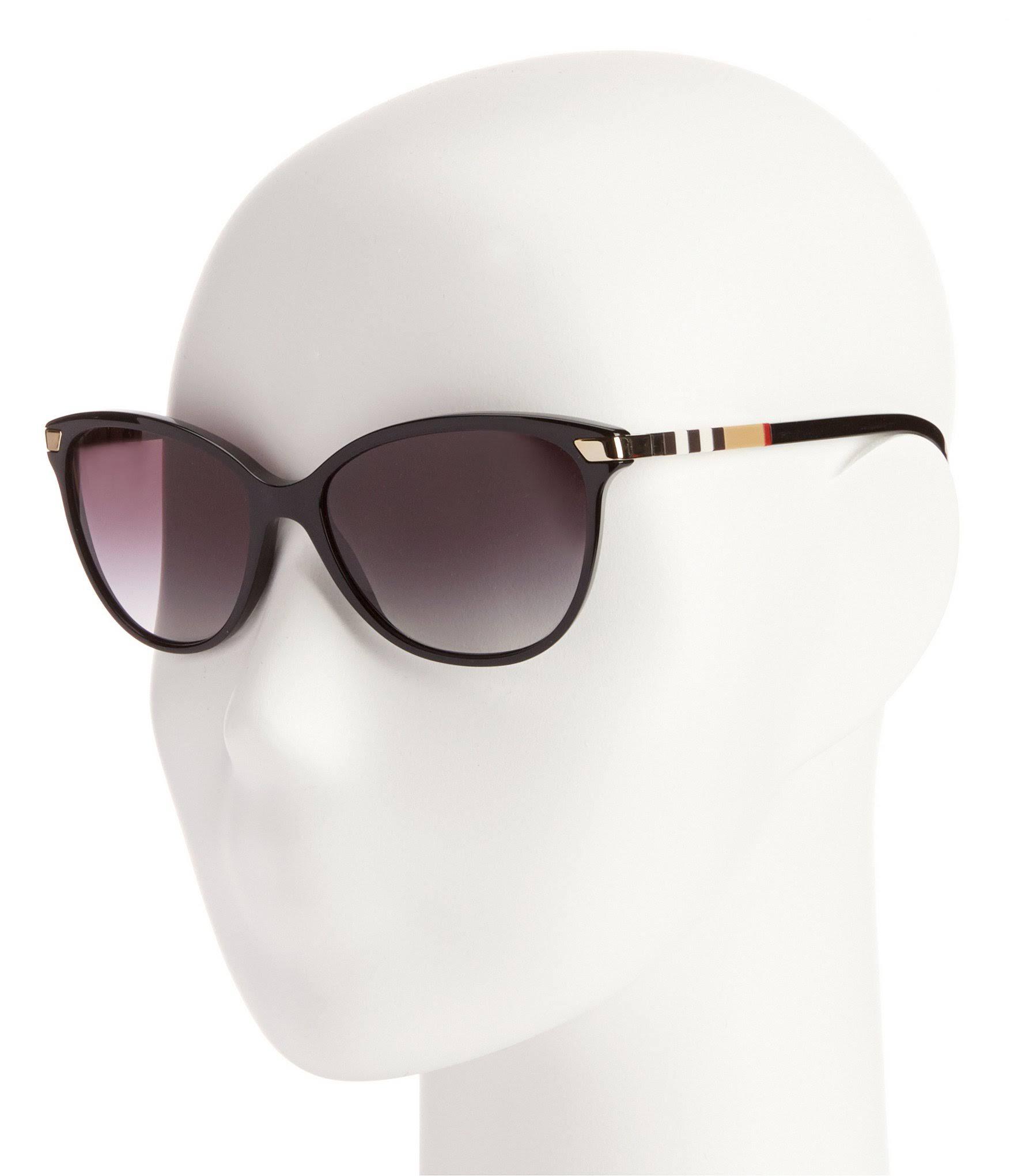 neraLenti grigie da Be4216 Reg42 BurberryMontatura sole della sfumate Occhiali L4Rjc5q3A