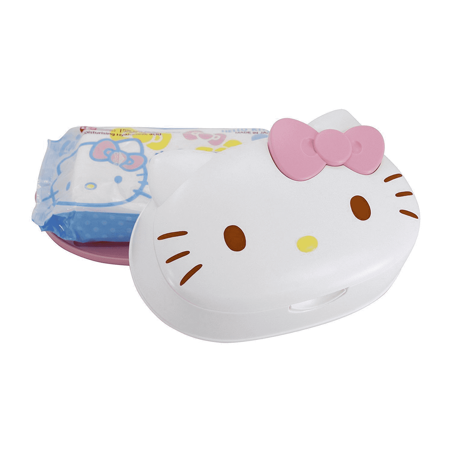 LEC Hello Kitty Wet Wipes with case