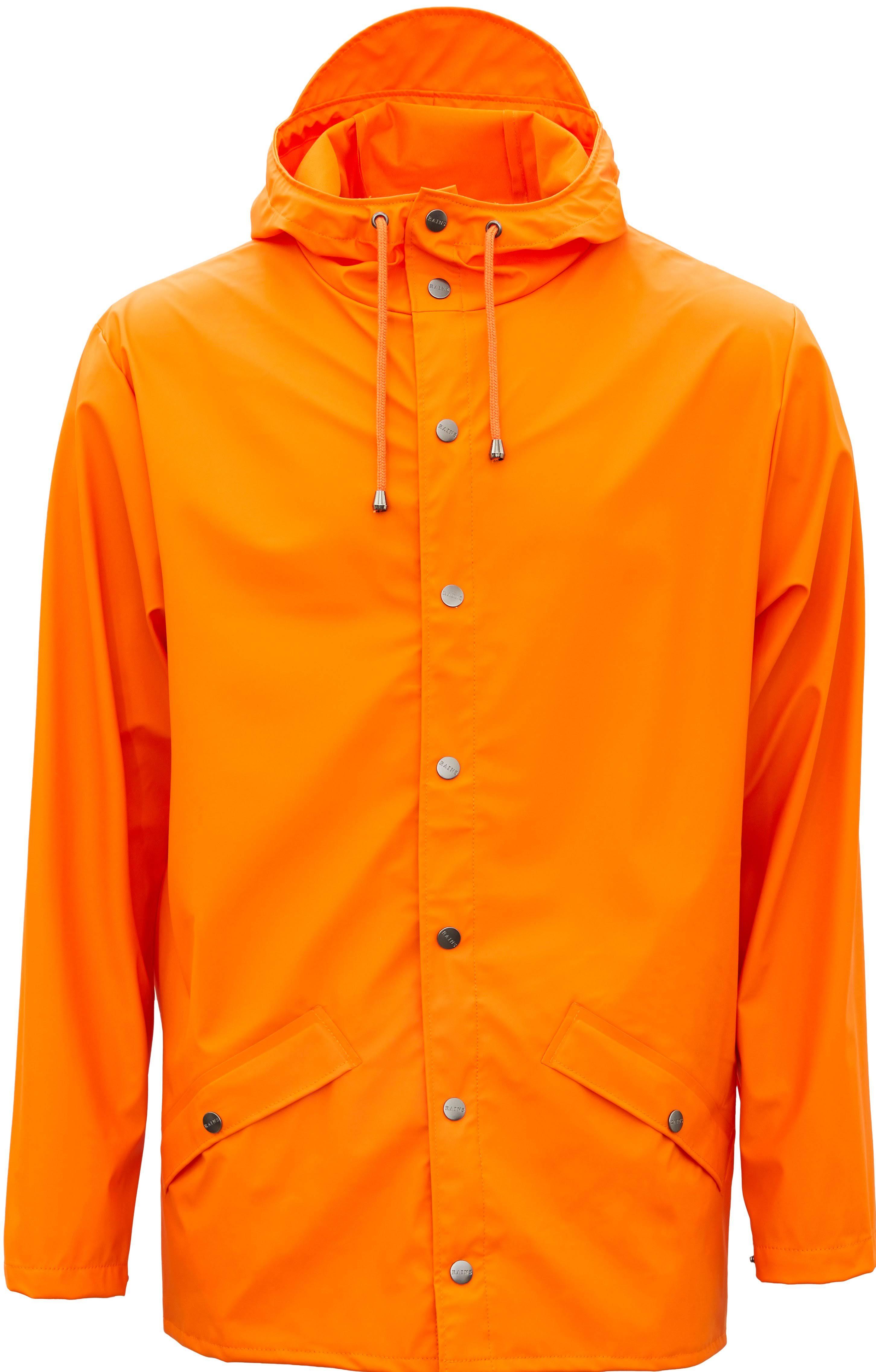 Chubascos Clásica Chaqueta Naranja Grande Fuego Lluvia 83 Mediana ZrZT4qwO