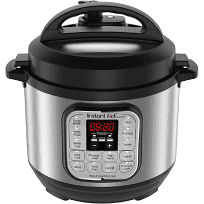 Instant Pot Duo Mini 3qt Pressure Cooker, Silver