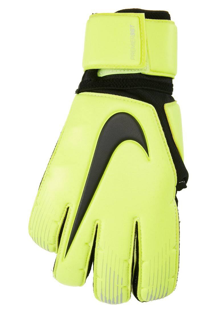 Nike Premier Sgt Goalkeeper Gloves Mens - Volt/Black - Size: 9