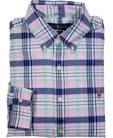 Sport Hombres Lauren Solid Oxford Ralph Shirt UqOYwxOpZ