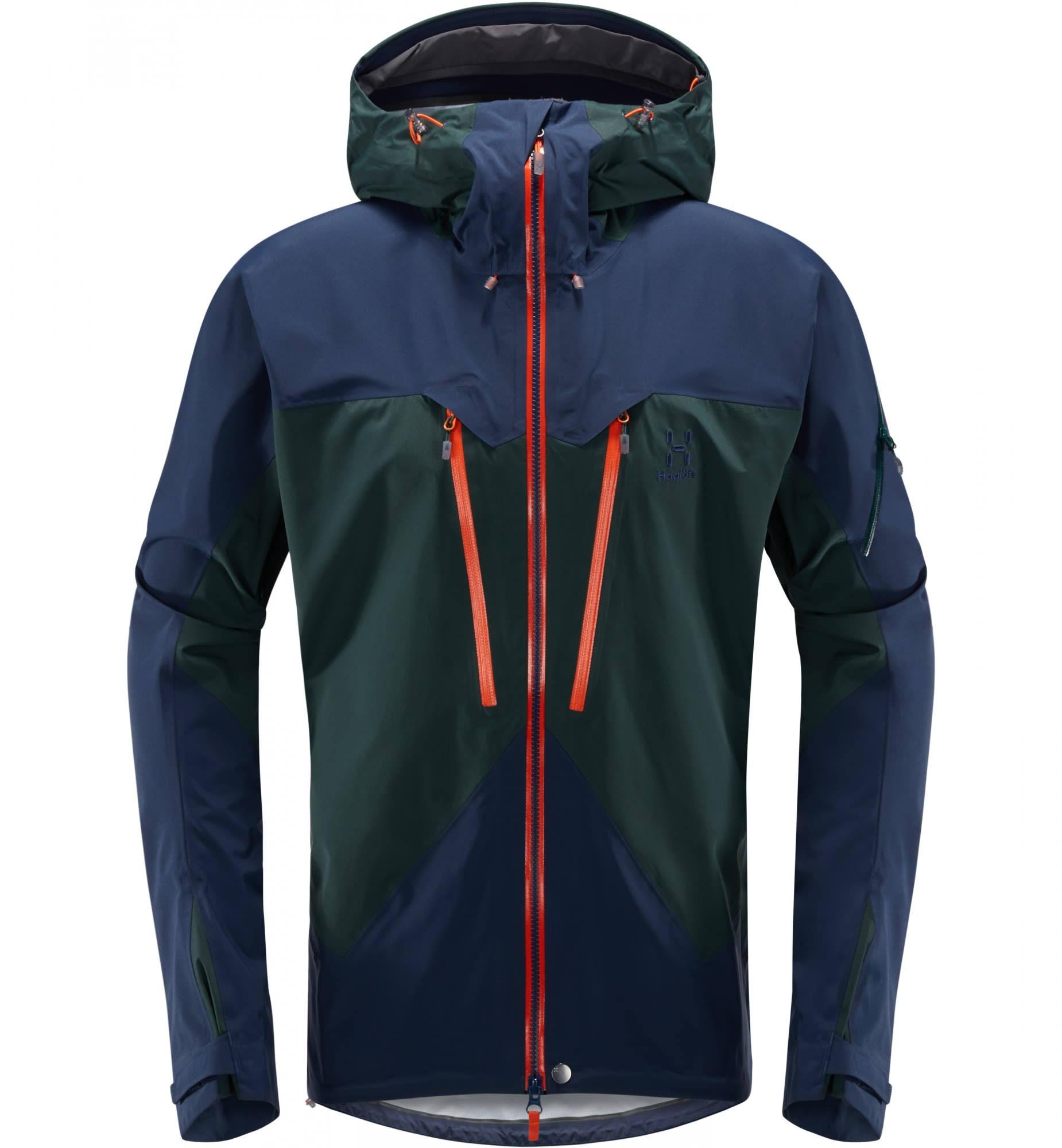 Haglofs Jacket Spitz S Hombre Para Mineral Tarn Azul rOrq5