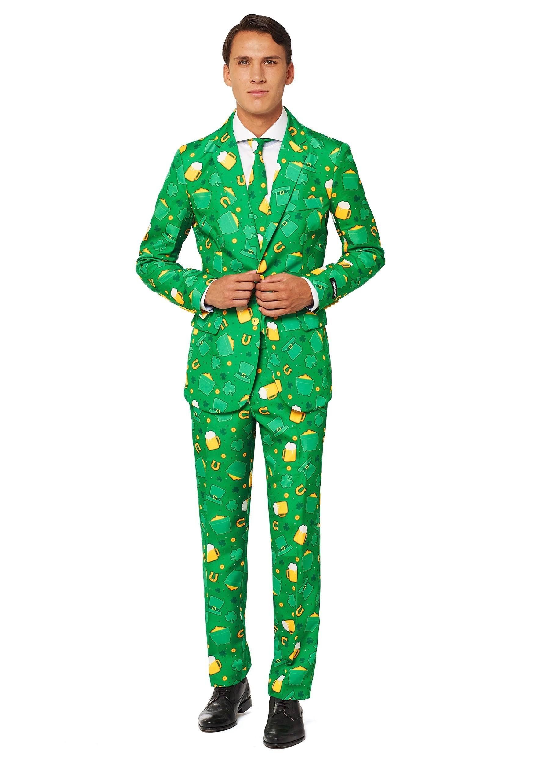 Patricio Los Día Hombres San Suitmeister De Traje Del qW7X1