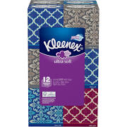 Kleenex Facial Tissue Upright, 12-Pack, 85-Sheets - Sale Prive Limit 4 on All Kleenex