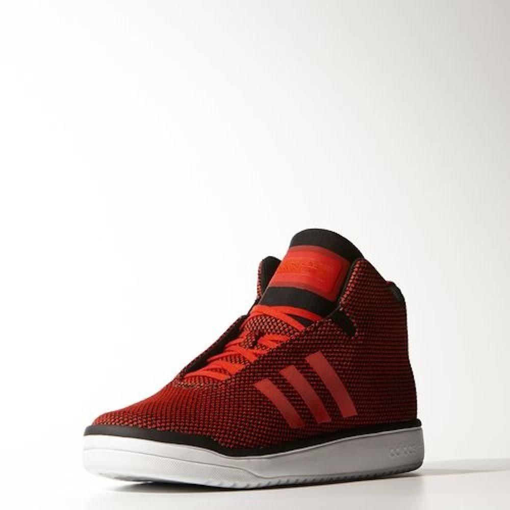 Adidas Zehenleinwand B24559 Veritas Sneakers Rote Mid Men Runde UA7rUq